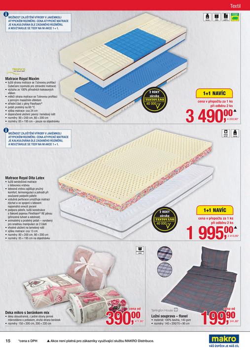 MAKRO letáky a katalogy - Spotřební zboží - Strana 14-15 1d5cd74ace