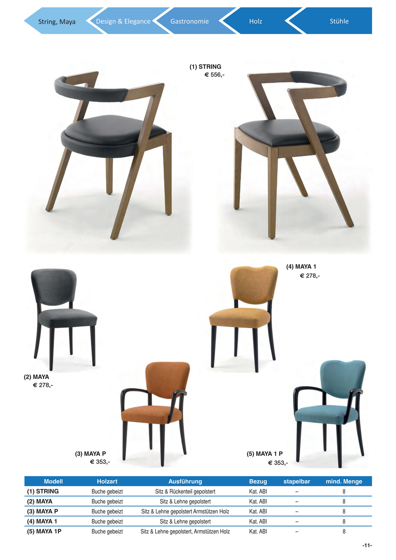 metro sterreich gastronomie gastronomie m bel 2016 seite 12 13. Black Bedroom Furniture Sets. Home Design Ideas