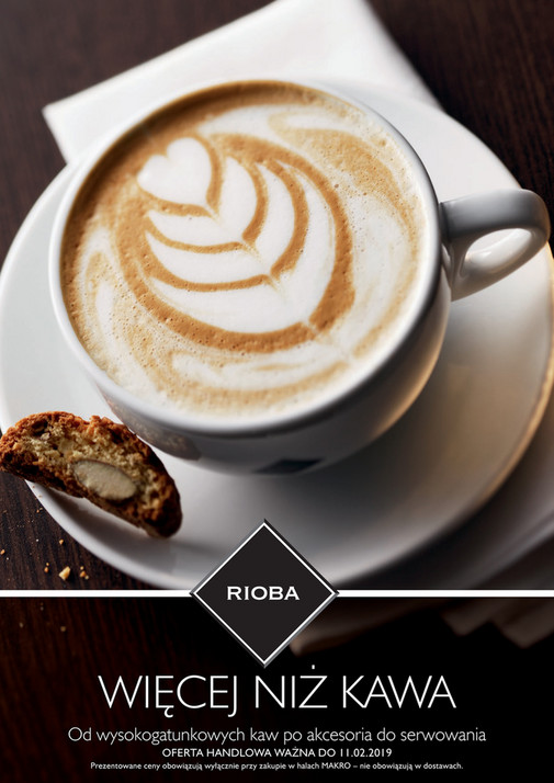 4fa90d26cb64e WIĘCEJ NIŻ KAWA Od wysokogatunkowych kaw po akcesoria do serwowania OFERTA  HANDLOWA WAŻNA DO 11.02.